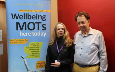 Wellbeing - Move it and Lose it client