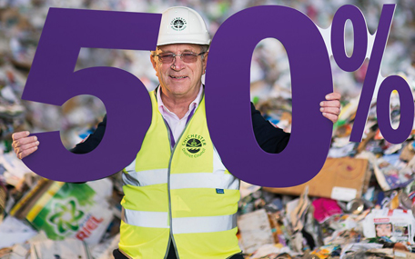 Recycle50% campaign - Cllr Roger Barrow