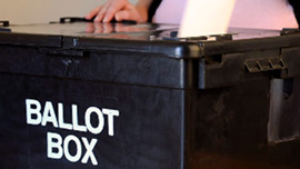 Ballot box and voting