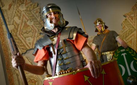 The Novium Museum - Roman soldier