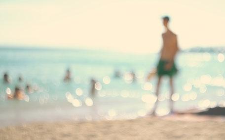 Beach bathing
