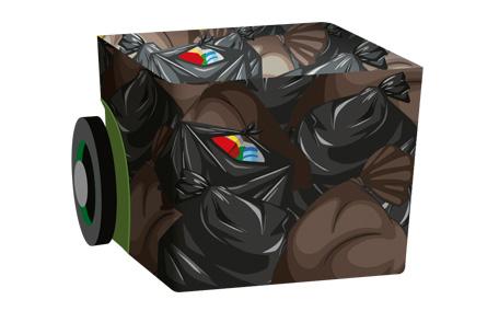 Binfographic layer image
