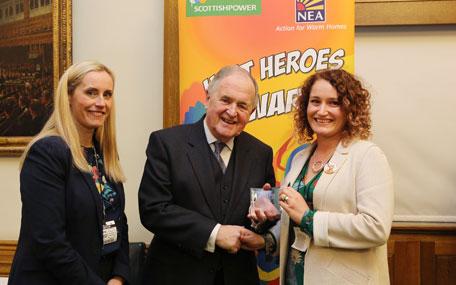Chichester Wellbeing - Emma Pagett, Heat Hero award