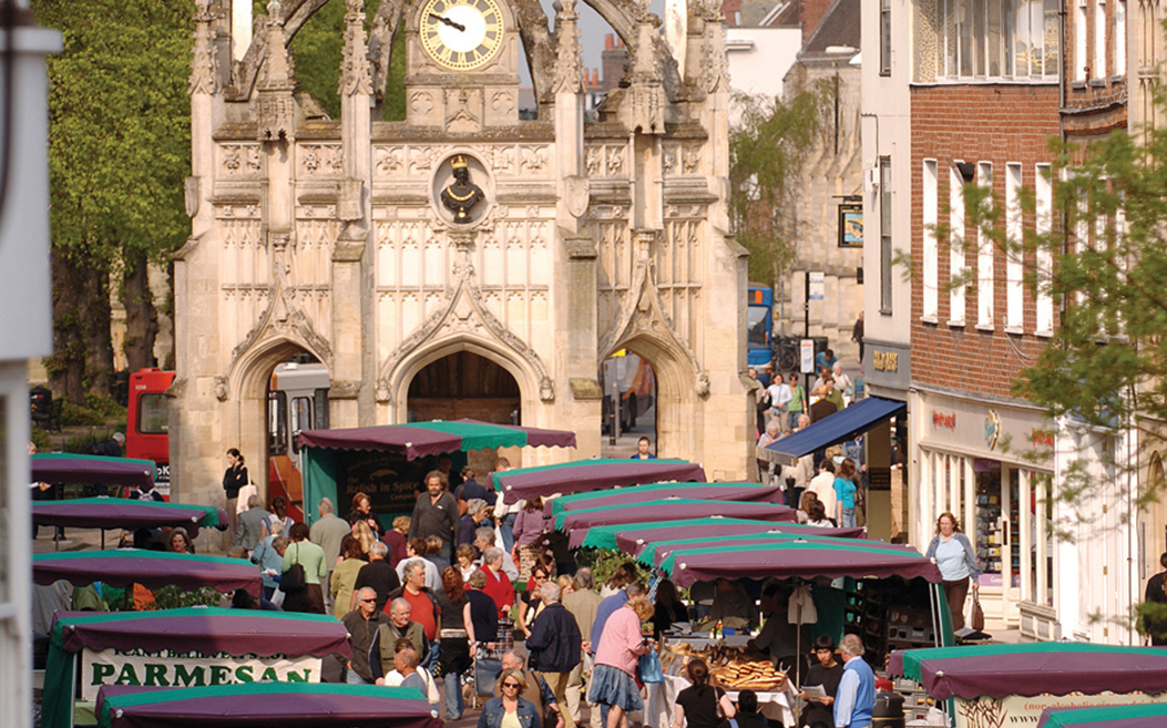 Chichester Farmers' Market advertising