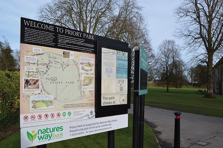 Priory Park sponsorship