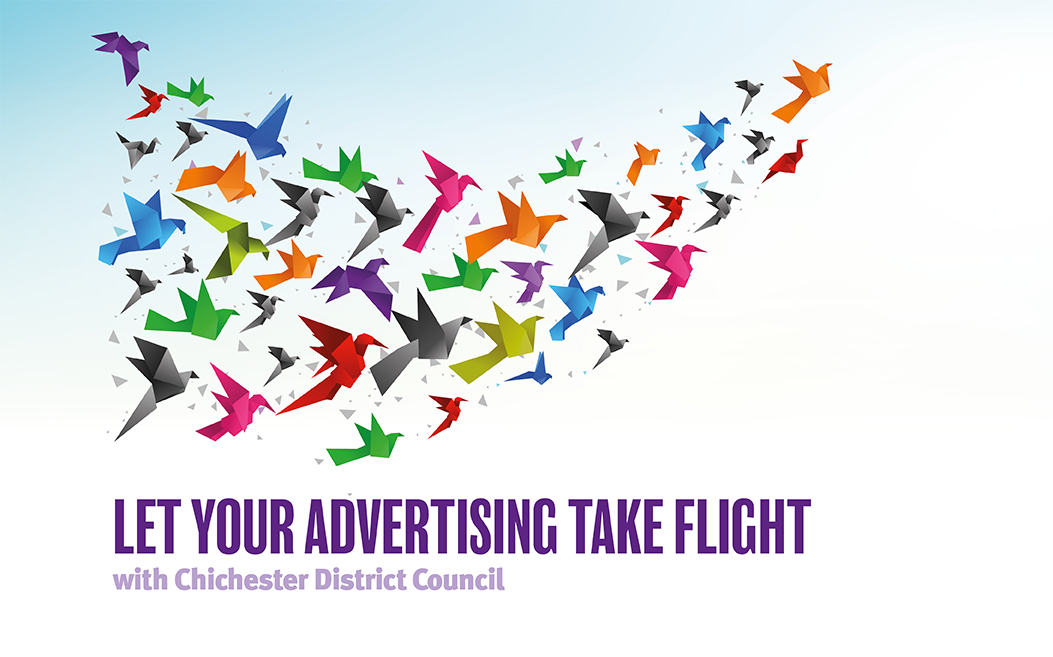 Advertising and sponsorship with Chichester District Council