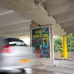 Thumbnail image of Car park large format poster advertising