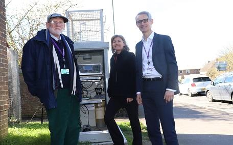 Westhampnett air quailty monitoring station