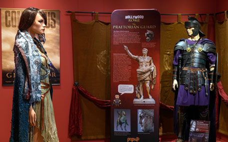 The Novium Museum - Hollywood Rome exhibition