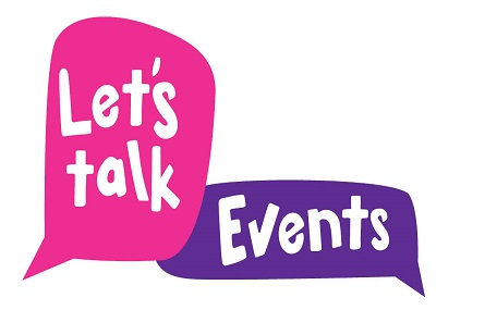 Let's talk events logo