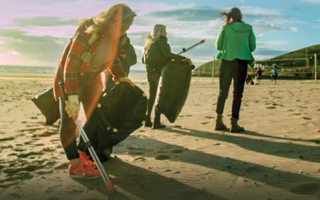 MCS beach clean