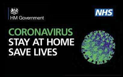 Coronavirus - stay in doors, save lives