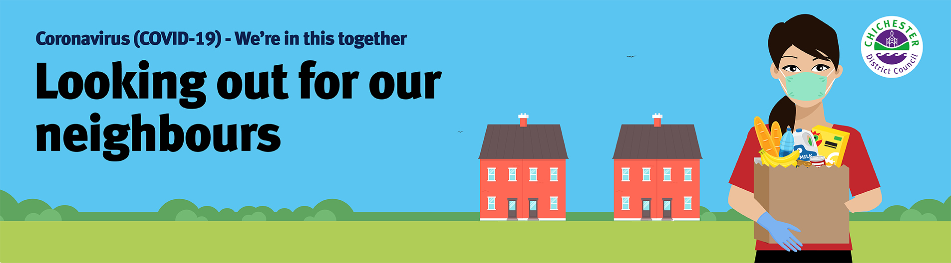 Help your neighbour campaign