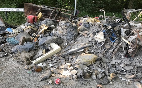 Petworth fly tip