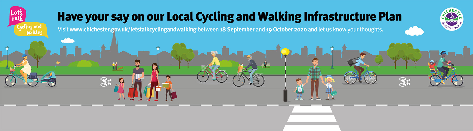 Let's Talk: Cycling and Walking campaign