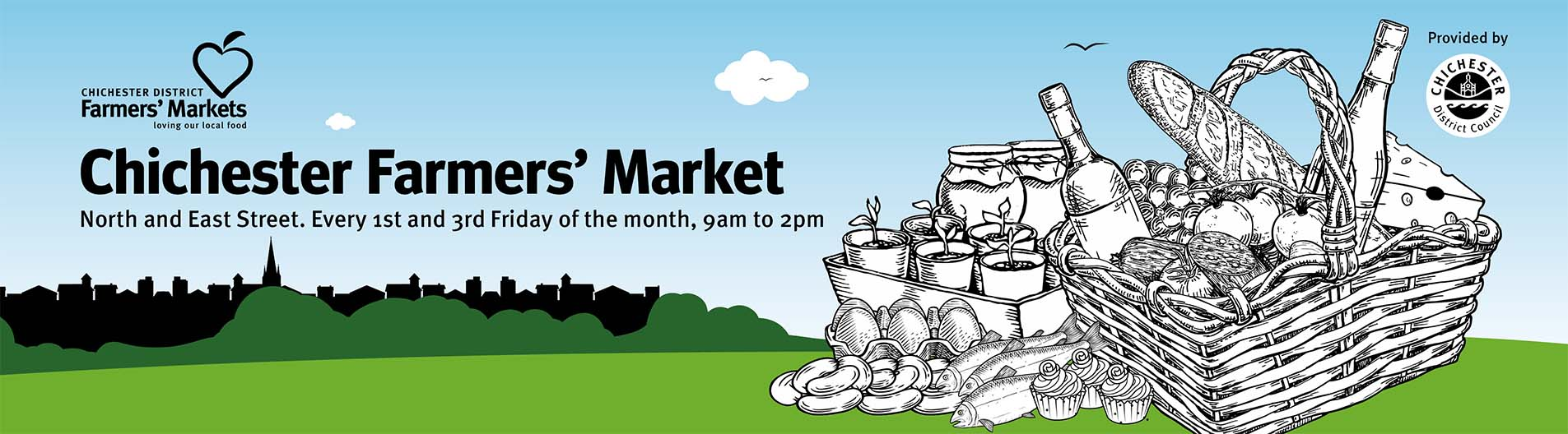 Chichester Farmers' Market set for safe return to city centre 2021