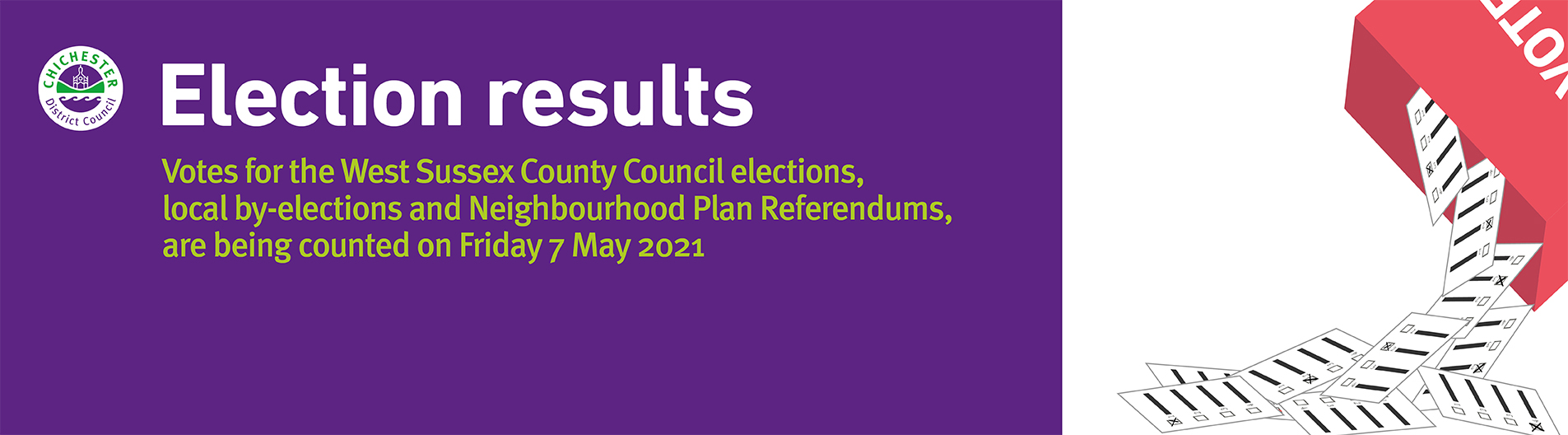 Local election results 2021