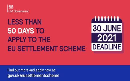 EU Settlement Scheme - 50 days