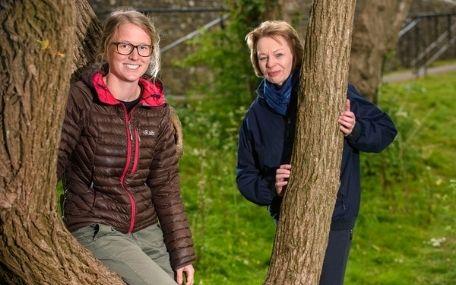 Free tree scheme - Cllr Plant and Sophie