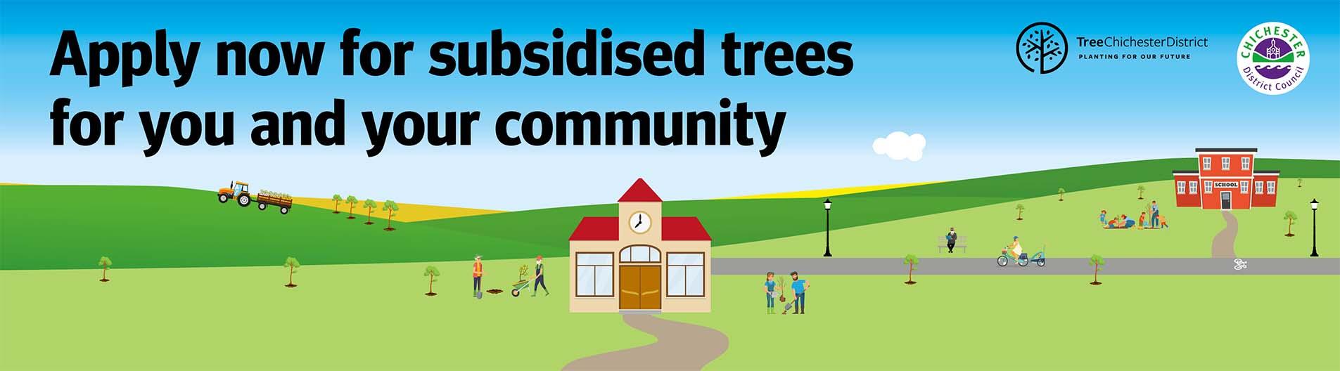 Chichester Tree Scheme 2021