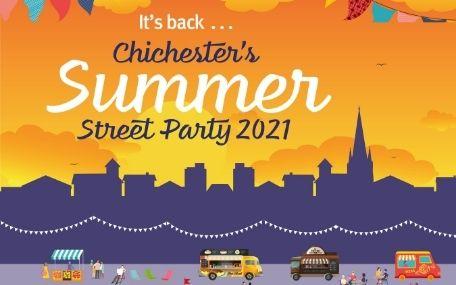 Summer Street Party 2021 Instagram Graphic