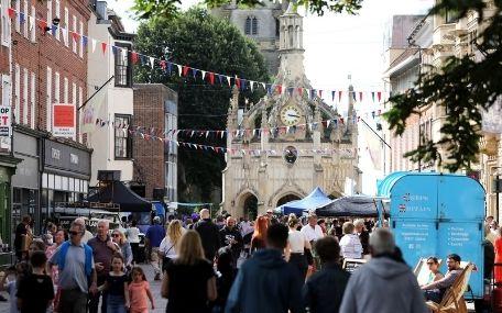Chichester Summer Street Party 2021