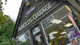 Arnolds Garage & Convenience Store Displays a larger version of this image in a new browser window