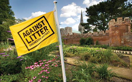 Against Litter cathedral